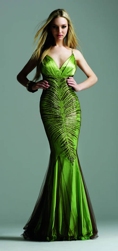 DAISY-1039 Emerald Green and Black Lace Corset Dress - Daisy Corsets